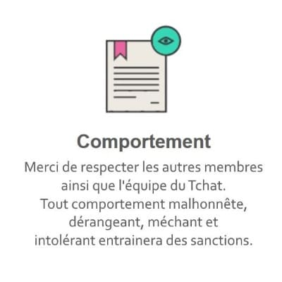 Règles du Tchat Gratuit de Rencontre-Sportif.eu